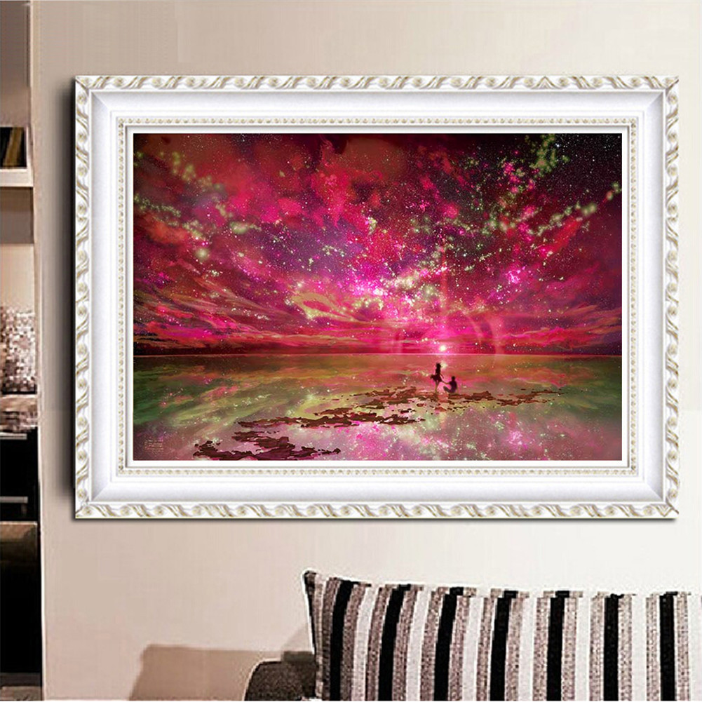 Blxecky 5d Diy Diamond Painting By Number Kitsnight Sky - 1001×1001