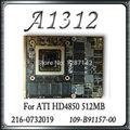 """Original Para Apple iMac 27 """"A1312 Cartão VGA Placa De Vídeo Placa Gráfica GPU 216-0732019 109-B90957-00 HD4850 512 MB"""