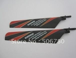 Free Shipping main blade 3 colors to choose Spare Parts for WL V911 4CH Single Propeller RC Helicopter