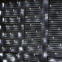 1.5m*1.5m 144 Bulbs LED Net Lights Outdoor Garden Lighting Christmas Lamps Holiday New Year Decoration Xmas Fairy Fish Net Lamp
