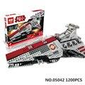 Lepin 05042 nueva serie star república luchando crucero conjunto bloques de construcción ladrillos educativos juguetes compatible con lego 8039