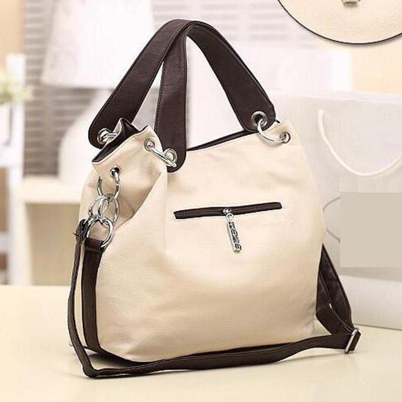 4253724ef4c7 2018 Fashion Designer Women Handbag Female PU Leather Bags Handbags Ladies  Brand Shoulder Bag Office Ladies ...