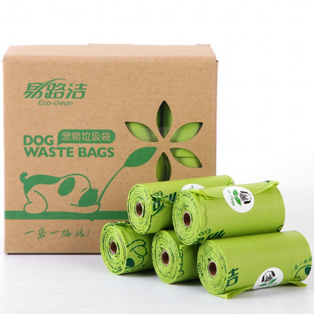 2019 New Dog Poop Bags Biodegradable Pet Garbage Bag 8/16 Rolls 120/240 Pcs Tasteless Cat Waste Bags Earth-Friendly Portable