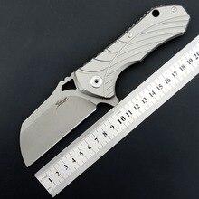 Eafengrow EF901 Folding Blade Knife D2 Steel Blade TC4 Handle Survivcal Tactical Pocket Knife Camping Hunting EDC tool цена в Москве и Питере