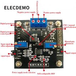 Image 2 - アンプ ボード AD623 モジュール計装アンプデジタル制御ポテンショメータ MCP41100 プログラマブルアンプ