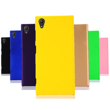 Phone Cases For Fundas Sony Xperia XA1 Case 360 Hard plastic PC Candy Color Back Cover Coque L1 Ultra Plus