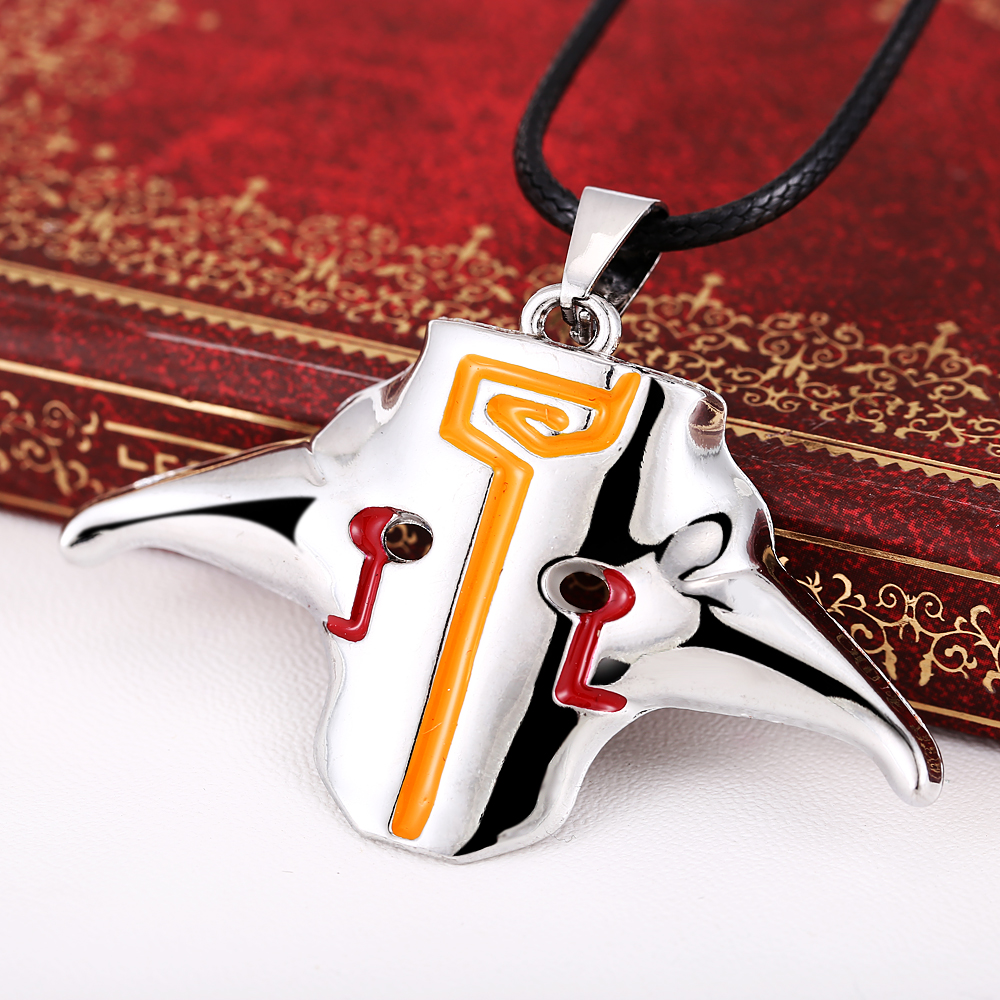 Freeshipping Fashion Online Game DOTA 2 Pendant Necklace Dota2 Jugg Silver Colors For Fans personality necklace