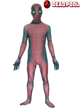 Red X-Force Deadpool Movie Costume 3D Printed Mens/Women/Kids Adults Deadpool Cosplay Suits Halloween Zentai Full Body Suit