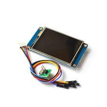 "Nextion Panel de pantalla táctil inteligente para Raspberry módulo táctil inteligente de 2,4 "", 2,8"", 3,2 "", HMI, USART, UART, TFT, LCD, para Raspberry Pi 2 A + B +"