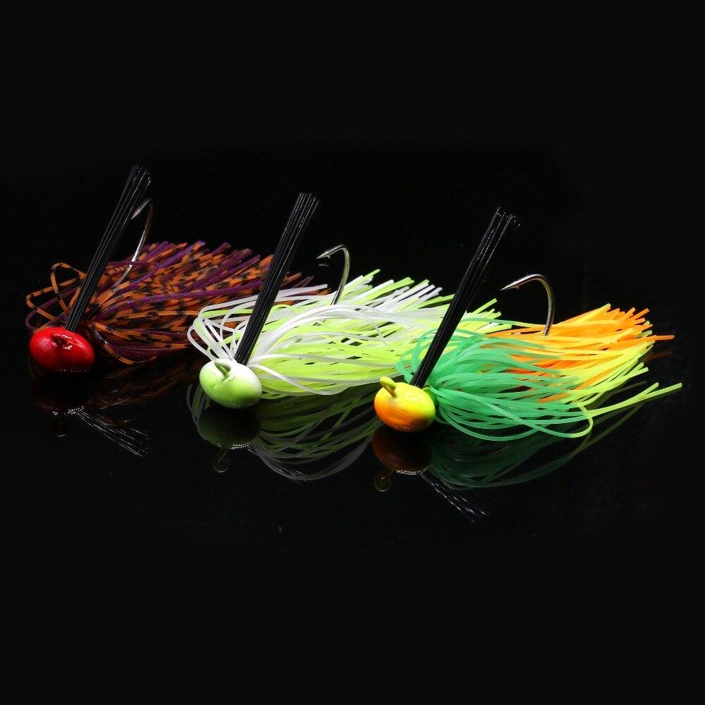 JonStar 3pcs/lot 12G Finesse Chatter bait spinnerbait fishing lure Buzzbait wobbler chatterbait for bass pike walleye fishing-1