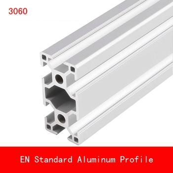 2 шт. 500 мм 3060 Алюминиевый Профиль EN Стандартные скобы DIY кронштейн Настольный держатель AL алюминиевая Экструзионная форма CNC 3D принтер