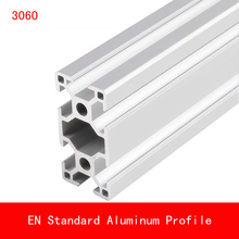 купить 2pcs 500mm 3060 Aluminium Profile EN Standard Brackets DIY Bracket Table Holder AL Aluminum Extrusion Shape CNC 3D Printer дешево