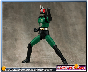 "Image 4 - Japan Kamen ""Masked Rider Black RX"" Original BANDAI Tamashii Nations SHF/ S.H.Figuarts Toy Action Figure   BLACK RX Ver.2.0"