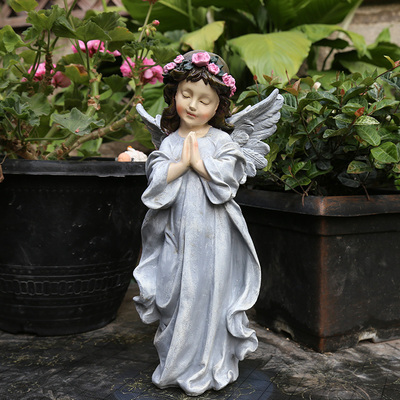 Courtyard Decoration Outdoor Garden American Country Courtyard Horticultural Decoration Resin Angel ornamentsCourtyard Decoration Outdoor Garden American Country Courtyard Horticultural Decoration Resin Angel ornaments