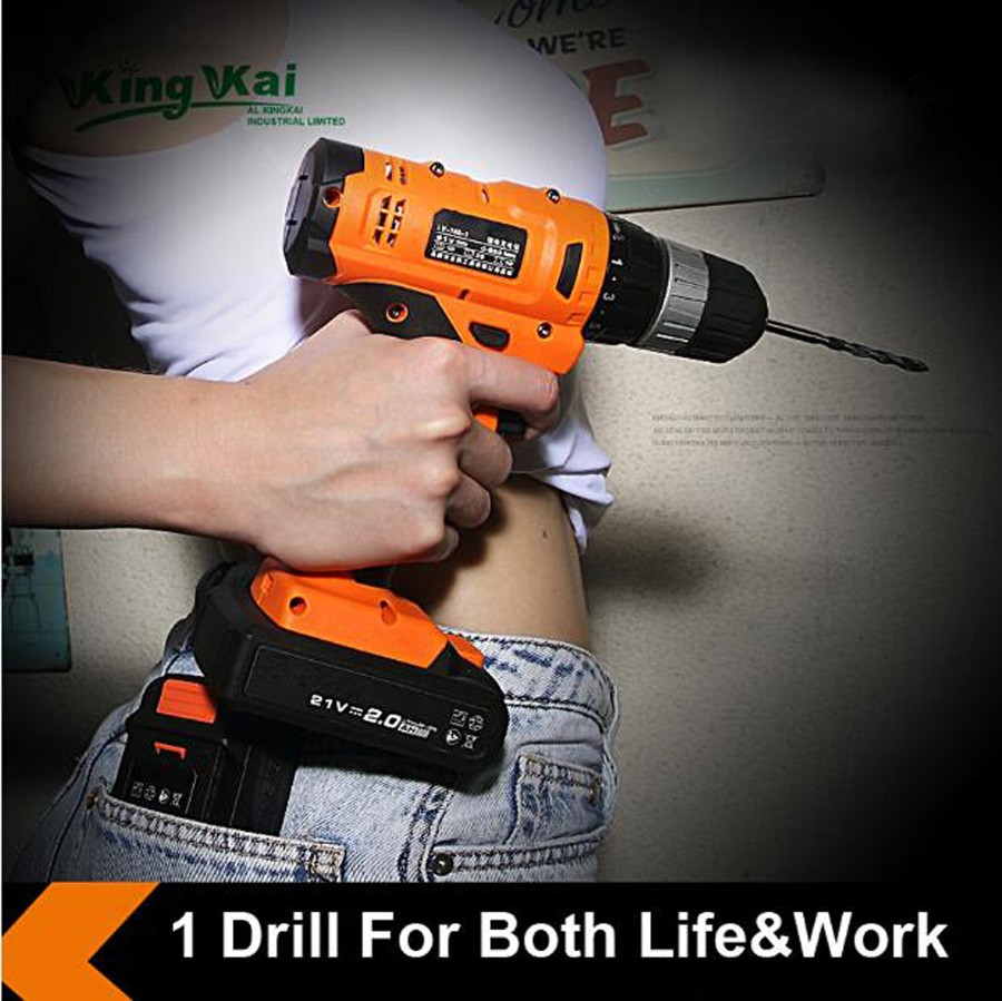 Cordless Lithium Battery Electric Drill-04