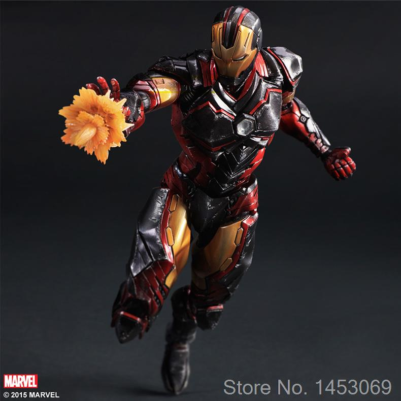 все цены на  SQUARE ENIX Variant Play Arts Kai Marvel Iron Man PVC Action Figure Collectible Model Toy 35cm KT1686  онлайн