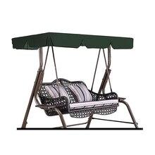 2/3 местный садовый качающийся чехол для подушки летний водонепроницаемый пылезащитный стул сменный навес гамак верхняя крышка защита от солнца 3