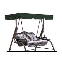 2/3 osobowa huśtawka ogrodowa obicia na poduszki lato wodoodporna pyłoszczelna krzesło wymiana baldachim hamak górna pokrywa Sun Protect Shade 3 w Markizy od Dom i ogród na