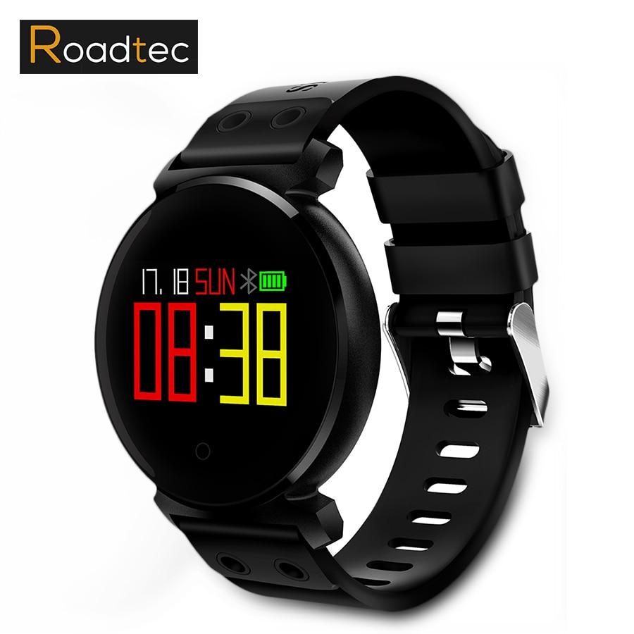 Roadtec K2 Étanche Montre Smart Watch Coeur Taux Smartwatch IP68 Sport Bluetooth Montre Le Sang de Soutien Pression Pour la Baignade PW168