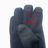 Silver fiber conductive fabric for touch screen gloves silver 37#