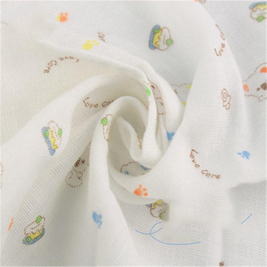 Square Cotton Cartoon Set Toallas Handkerchief Baby Muslin Gauze Wipes Newborn Baby Face Towel Bibs Cotton Cute 70A0071