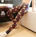De Invierno de Lana gruesa Ropa Interior Térmica Hombres Long John Pantalones Térmicos Pantalones Del Sueño Hombre Medias Caliente Pijamas Bottoms Leggings ropa de Dormir