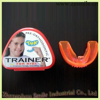 Original Australia Myofunctional T4K Red Phase II Hard Trainer/T4K Pre-Orthodontic Trainer for Kids