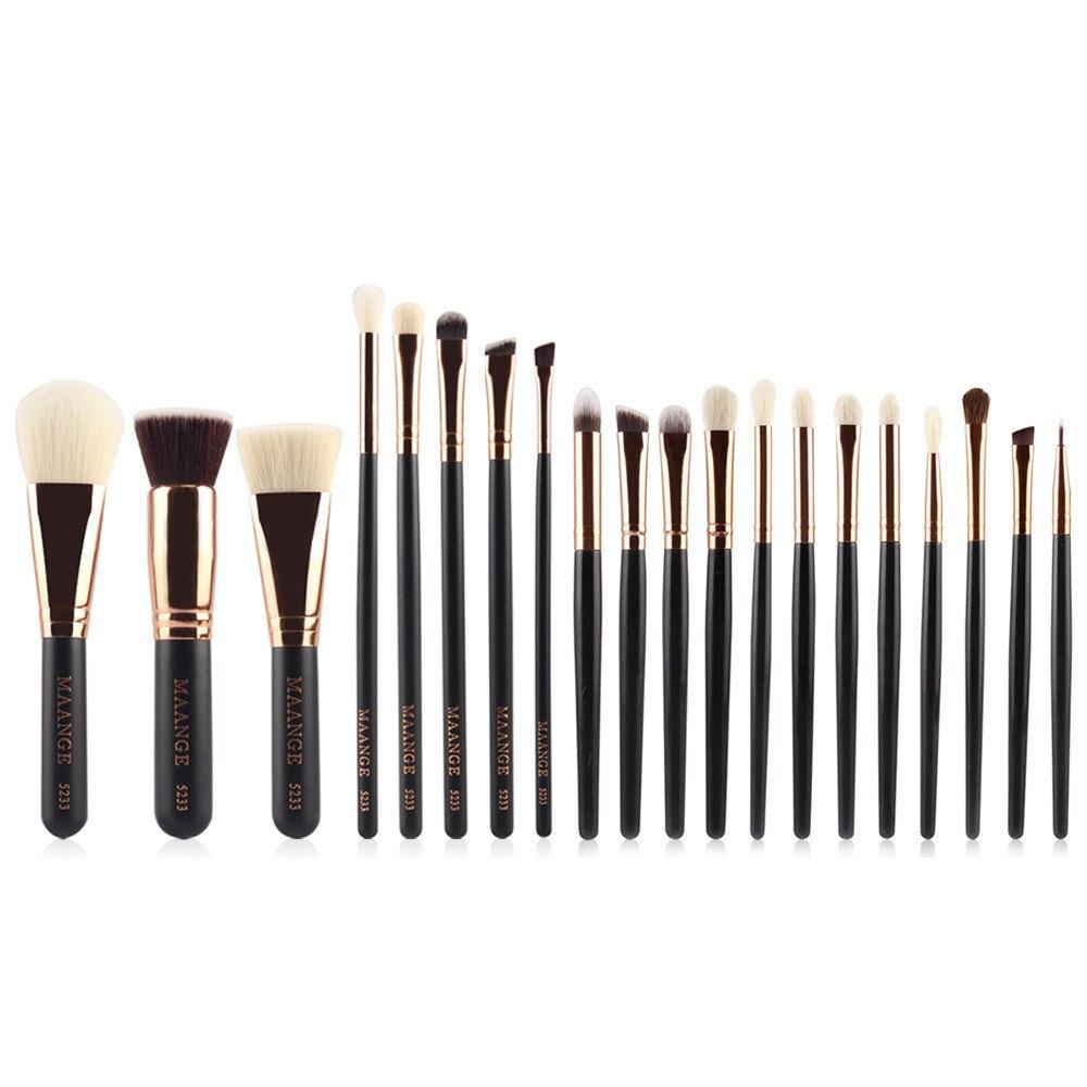 makeup brushes kit professionally 20Pc Makeup Brushes Set Powder Foundation Eyeshadow Eyeliner Lip Cosmetic maquiagens7