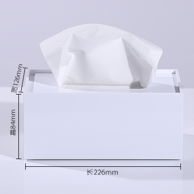 Мраморный узор, акриловая коробка для салфеток, креативный тканевый чехол для ванной комнаты, украшение для гостиной, держатель для бумаги в скандинавском отеле - Цвет: E