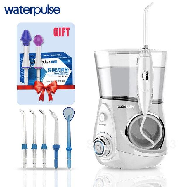 Waterpulse V660 פרו 7 חרירי אוראלי משטף האף לשטוף לערבב חוט שיניים מים חשמלי Flosser משטף אוראלי מים שיניים