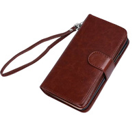 Multifunctional Wallet Case For IPhone X Flip Cover PU Leather Hadbag Phone Bag Case For IPhone