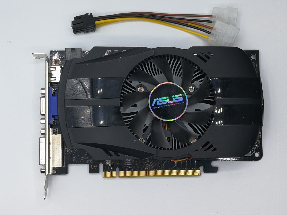 Used, ASUS HD7770-FMLII-1GD5 128bit DDR5 Gaming Desktop PC Graphics Card ,100% tested good