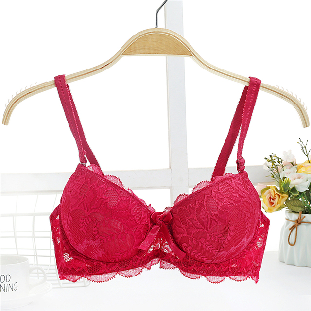 6581b6dffd430 Yasemeen Sexy Lace Push Up Brassiere 3 4 Cup Hands Adam Massage Adjustable Underwire  Underwear Women Push Up Bras Convertible