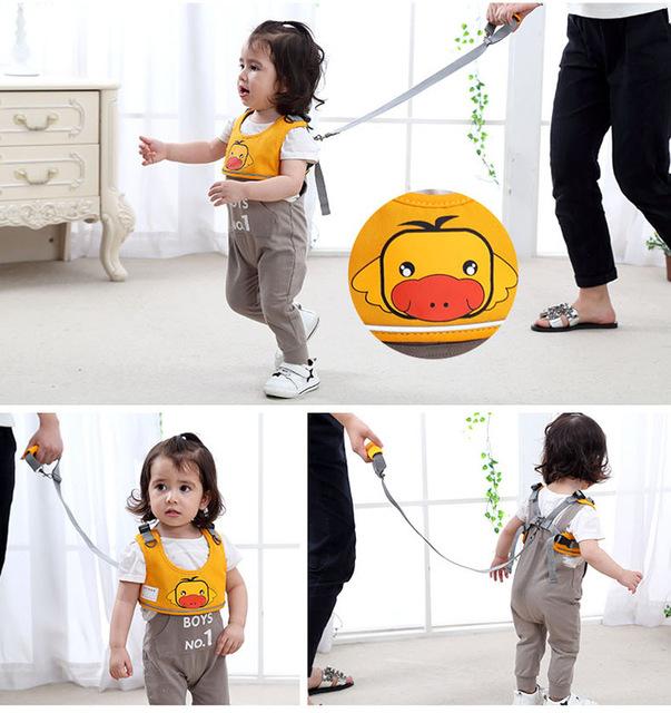 Learning Walking Baby Belt Child Safety Harness Baby Walker Baby Toddler Belts Harness Assistant Backpack Leash Children Kids