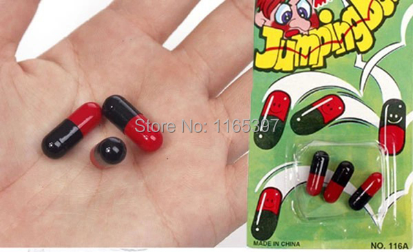 36x magic jumping beans Joke magic trick porps funny Halloween joke toy props party interactive gags toys for hours fun favors