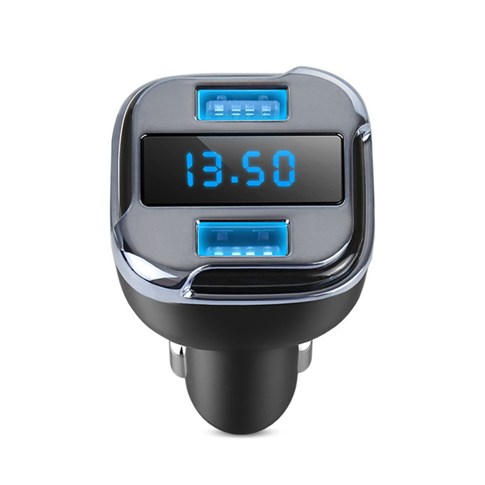 Dual USB Car GPS Tracker Locator Car Charger Real Time Tracking Device Detector Voltmeter Mini GPS Mobile App Tracking