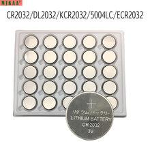 Bateria de Lítio Ecr2032 tipo Moeda 25 PCS 3 V Cr2032 Botão Célula Dl2032 Br2032 Batteriesfor Relógios Calculadora