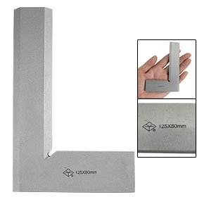 Silver Tone 90 Degree Angle 125 x 80mm Bladed Try Mitre Square Tool футболка mitre футболка игровая mitre modena взрослая