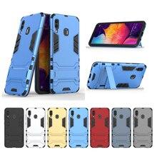 For Samsung Galaxy A30 Case SM-A305 Luxury Robot Hard Back Phone Case For Samsung Galaxy A30 Cover For Samsung A30 Case смартфон samsung galaxy a30 2019 sm a305 32gb black