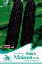 Растительного клейкий Черные Семена Кукурузы, оригинальной Упаковке 10 шт. Сад бонсай овощи семена Черные восковой кукурузы, супер Легкий Расти