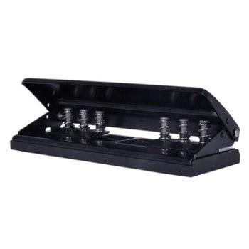 Perforadora de agujeros ajustable de tres agujeros