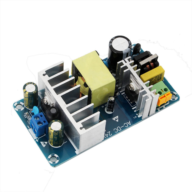 AC-DC Power Supply Module AC 85-265V to DC 24V 4-6A Switching Power Supply Board Dls HOmeful jtron ultra small switching power supply board module green ac 85 265v