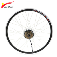 250w 36v Electric Bicycle Rear Wheel Motor With 6/7 Speed Cassette Bike Brushless Gear Hub Lcd Led Electric Scooter