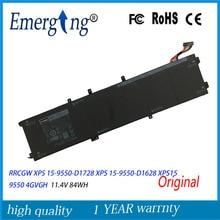 11.4 v W H Nueva Batería Original Del Ordenador Portátil para Dell XPS 15-9550-D1828T 1P6KD T453X 4 Precisión 5510 XPS15 GVGH 9550 XPS 15