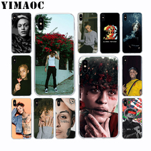 YIMAOC Lil skies Rapper Soft TPU Silicone Case for Apple Iphone Xr Xs Max X 10 8 Plus 7 6S 6 Plus SE 5S 5 7Plus 8Plus Cover collapsible top hat stand side table magic trick stage magic props close up magic mentalism fun gimmick magia table props