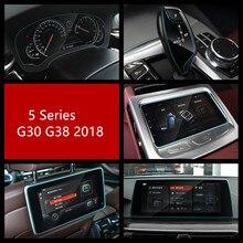 Автомобильный Центр Conole gps навигации Экран закаленное Стекло пленка для BMW 5 серии G30 G38 2018 ПВХ приборной панели защиты масла пленка