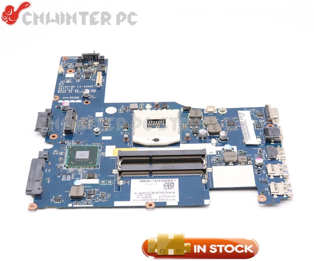 NOKOTION VILG1/G2 LA-9902P For Lenovo G400S Laptop Motherboard 14 inch90003099 SLJ8E HM76 DDR3 цена