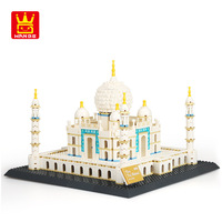 WANGE DIY Great Architecture Building Blocks TAJ MAHAL of AGRA 1505pcs Bricks Educational Toys for Children Gifts NO.5211