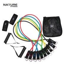 Дизайн высокого качества(5 цветов) набор эспандеров с дверной якорь, ремешок на лодыжке, таблица упражнений для фитнеса и упражнений