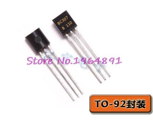 50pcs/lot BC307B BC307-B BC307 TO-92